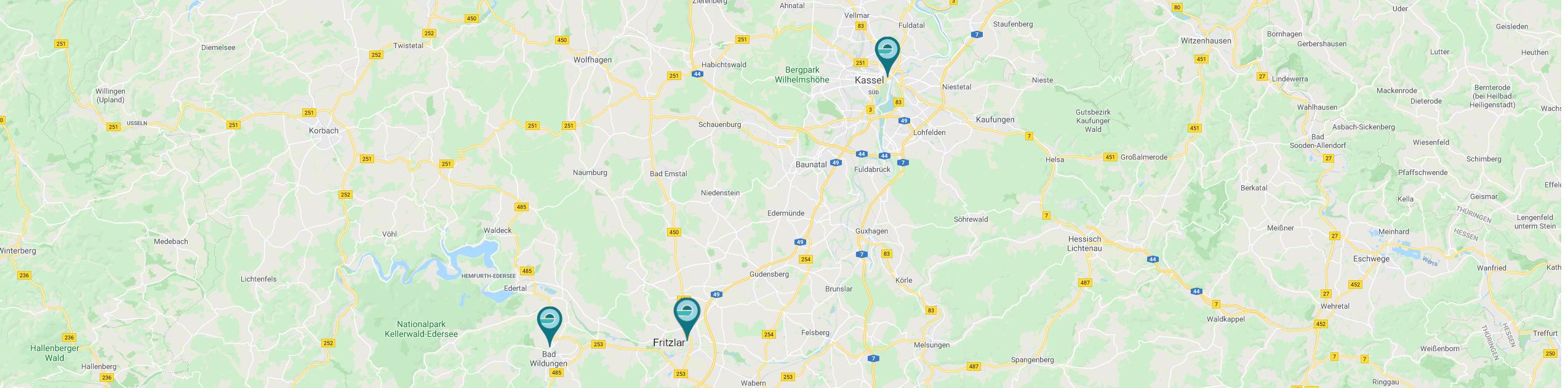 Standorte Prostata MRT